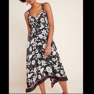 NWT ANTHROPOLOGIE Maeve Vivienne Midi Dress 2